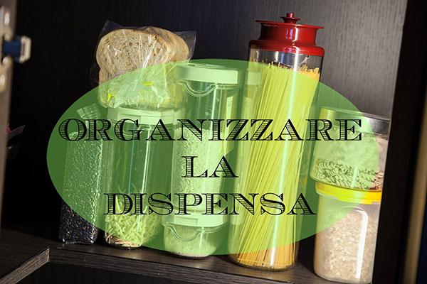 organizzare la dispensa