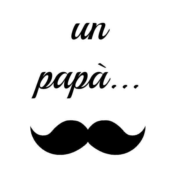 un papà