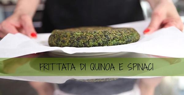 _FRITTATA DI QUINOA E SPINACI