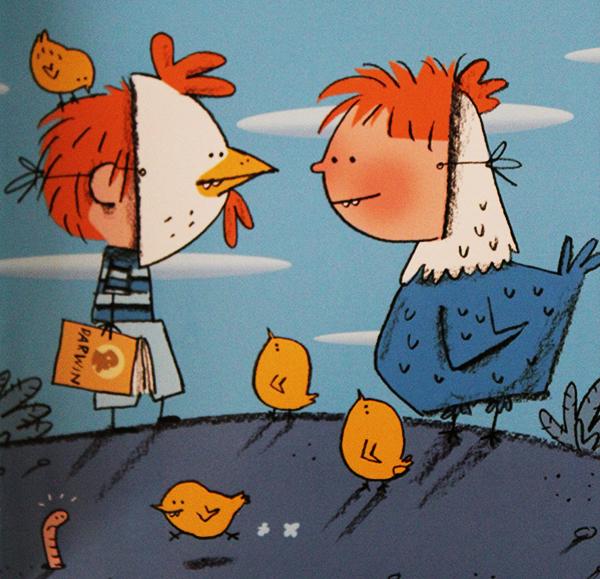 perchè siamo parenti della galline?