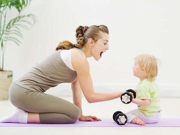 ginnastica dopo il parto