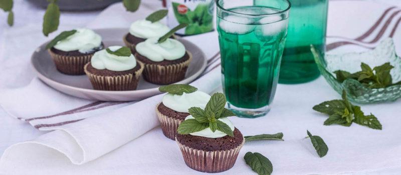 Cupcakes al cioccolato e menta Ricominciodaquattro
