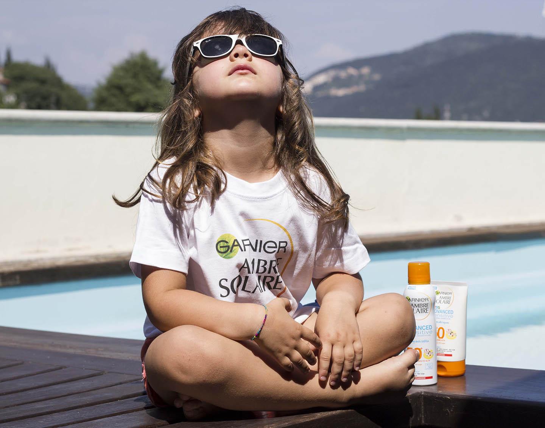 al sole protetti e sicuri