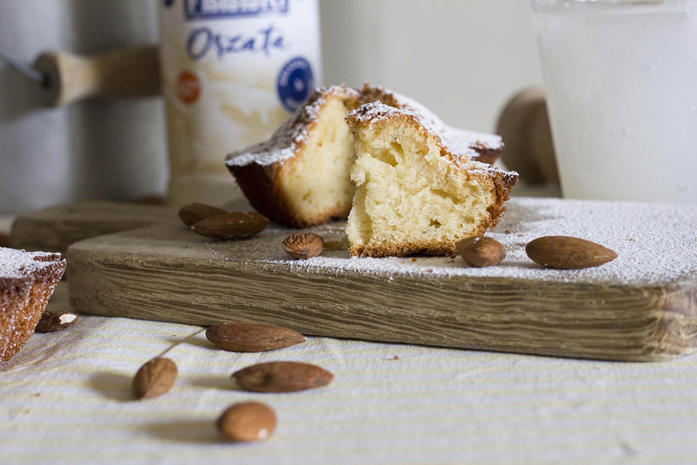 mini cakes all'orzata ricominciodaquattro