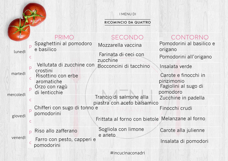 menu_settimanale_settembre_ricominciodaquattro