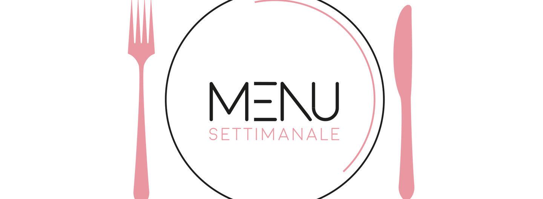 menu settimanale di settembre