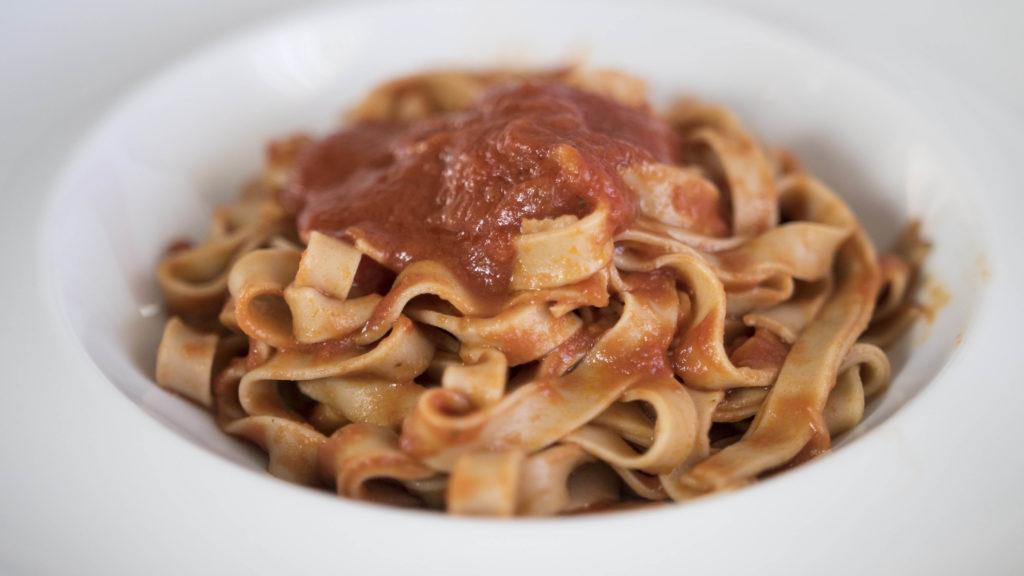 pasta fresca con farina di castagne Ricominciodaquattro