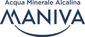 marchio MANIVA_acqua minerale alcalina_Blue
