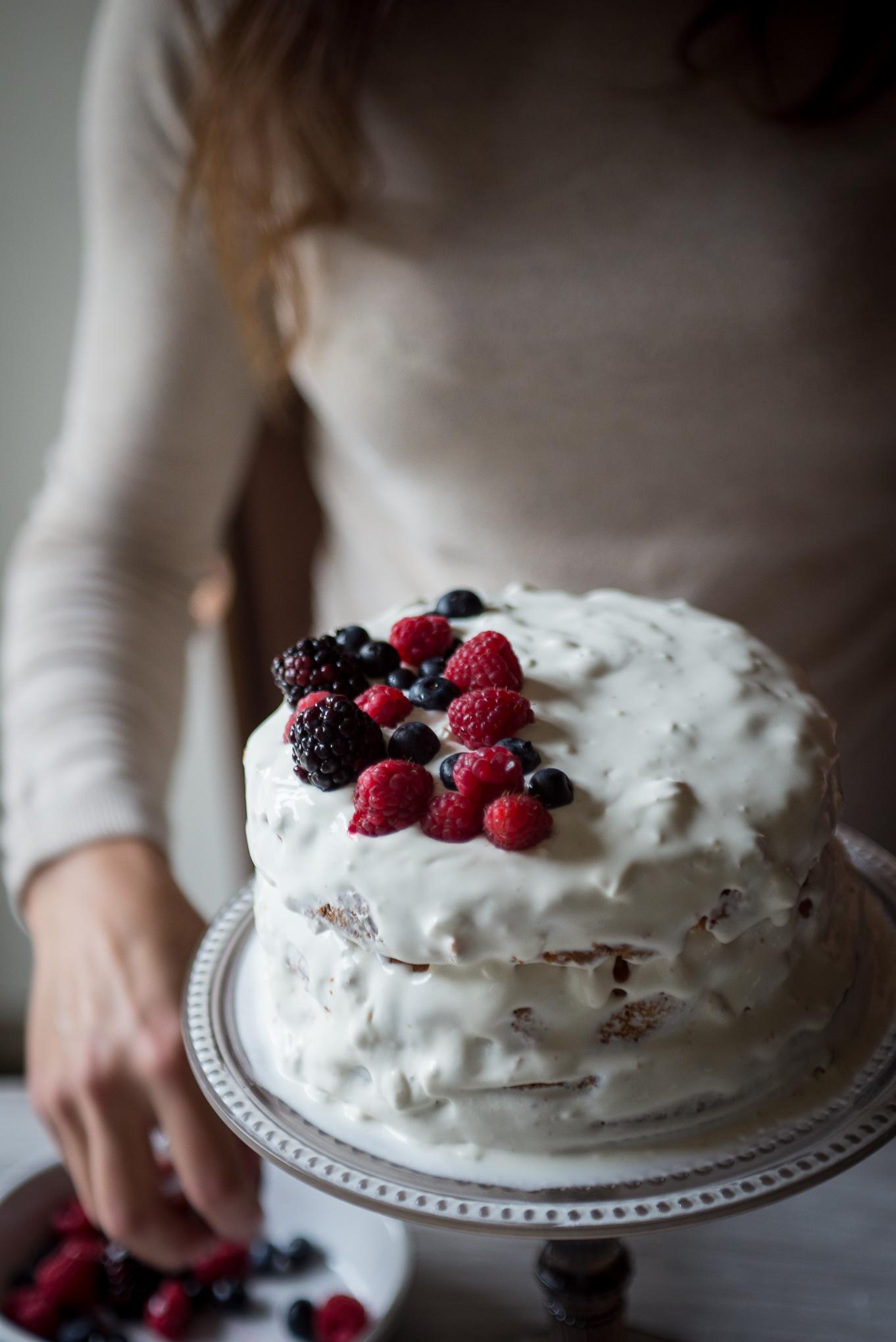 Una torta per Natale Ricominciodaquattro