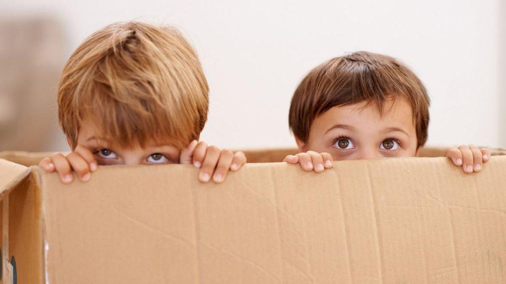 dire ai tuoi figli che state per traslocare