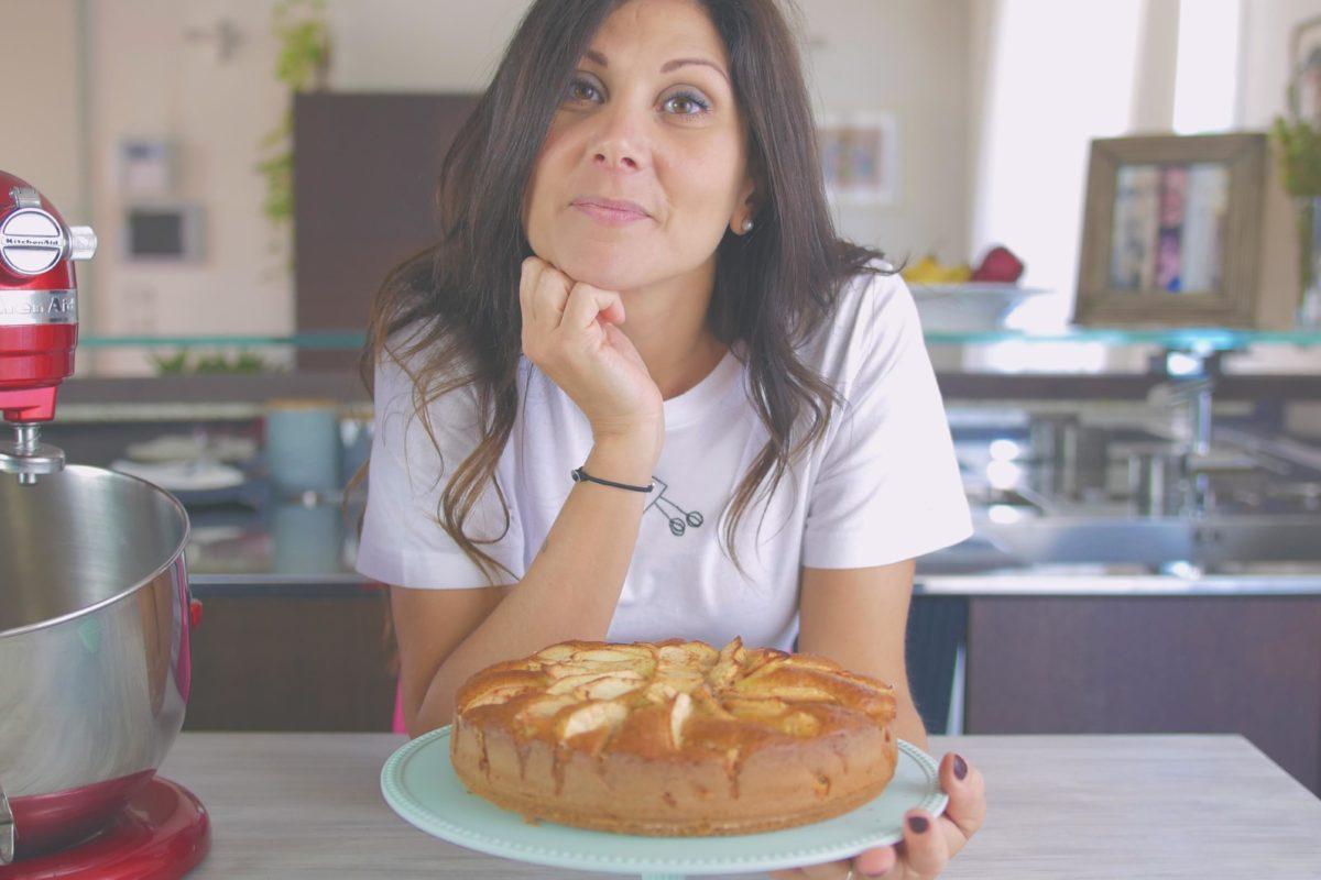torta di mele soffice Ricominciodaquattro