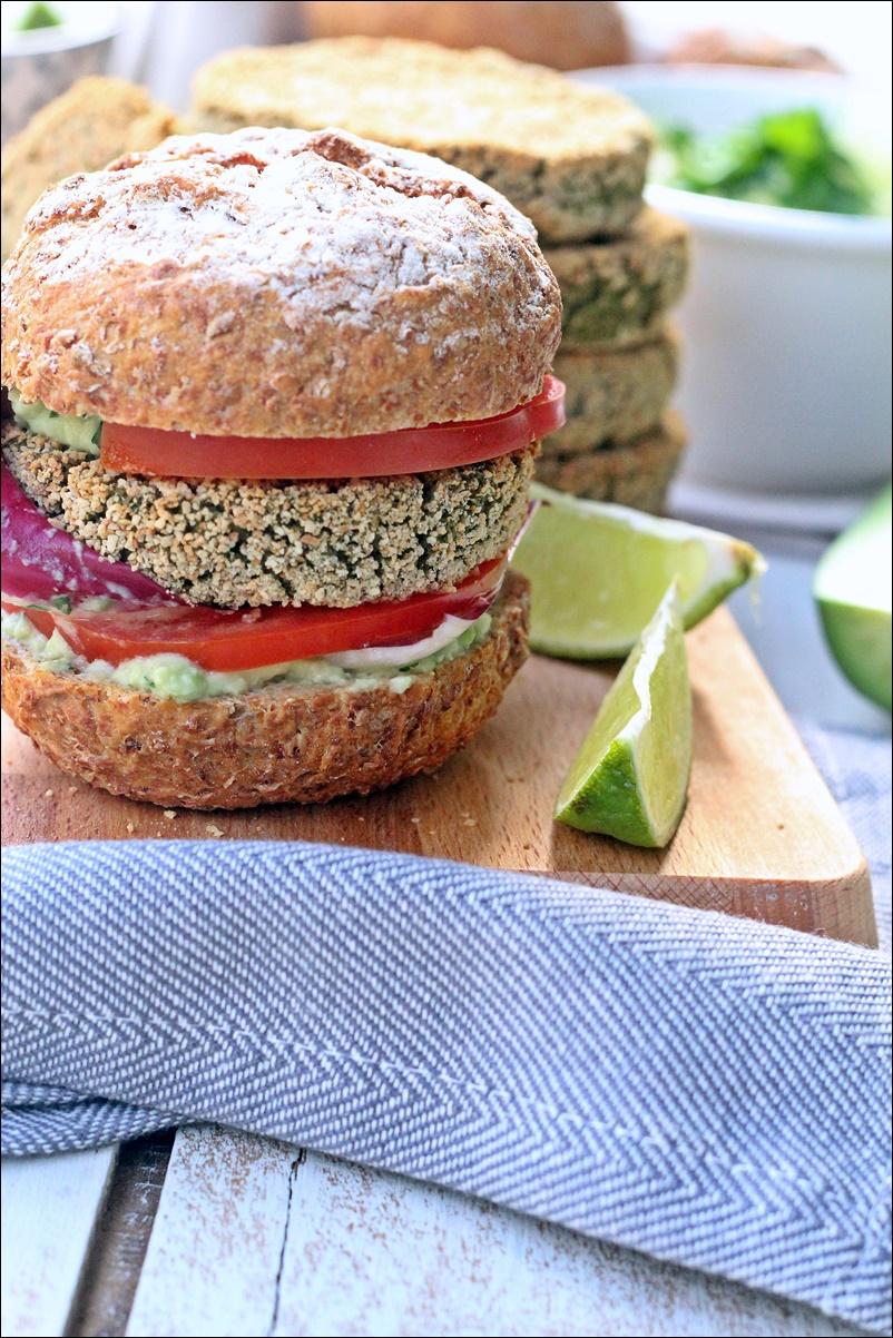 vegan burger Ricominciodaquattro
