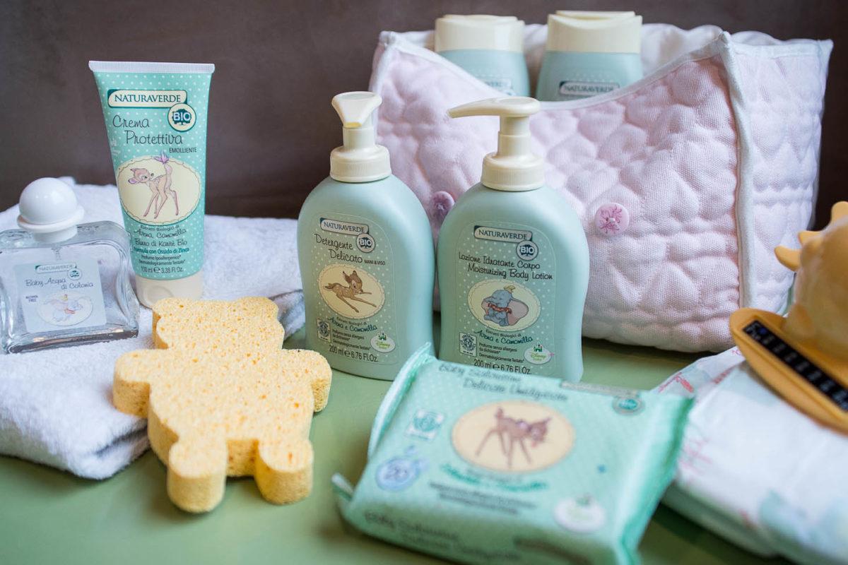 La beauty routine del bebè Ricominciodaquattro