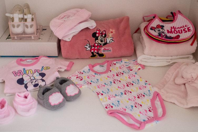 Come allestire la culla e il primo guardaroba del bebè