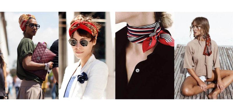 Come indossare il foulard