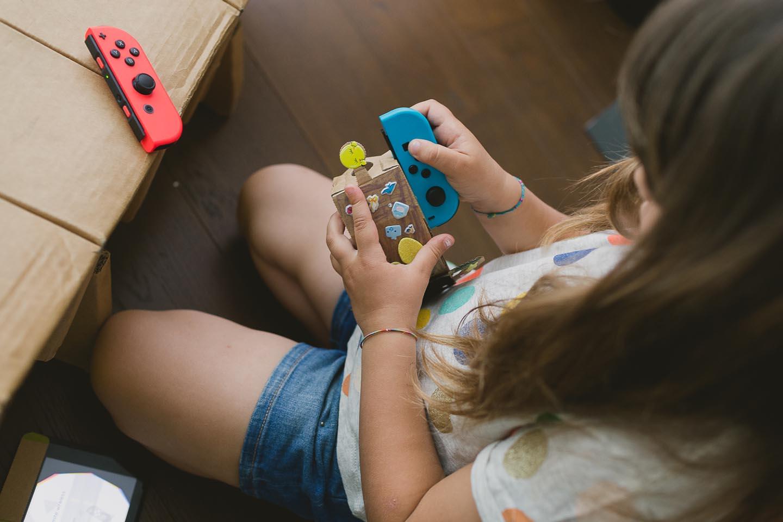 Nintendo LABO Ricominciodaquattro