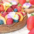 torta vegana al cioccolato per la festa della mamma