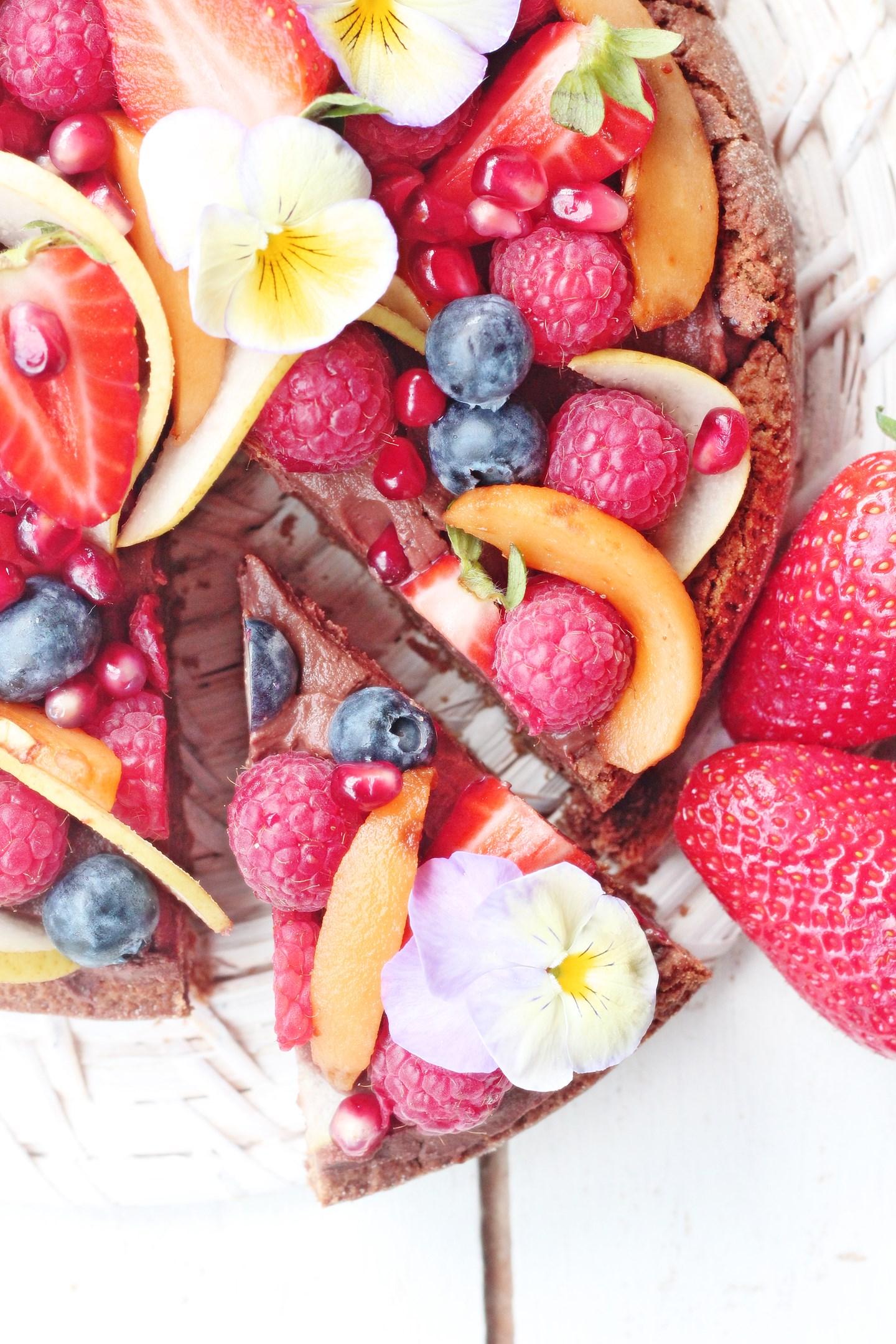 torta al cioccolato vegana per la festa della mamma