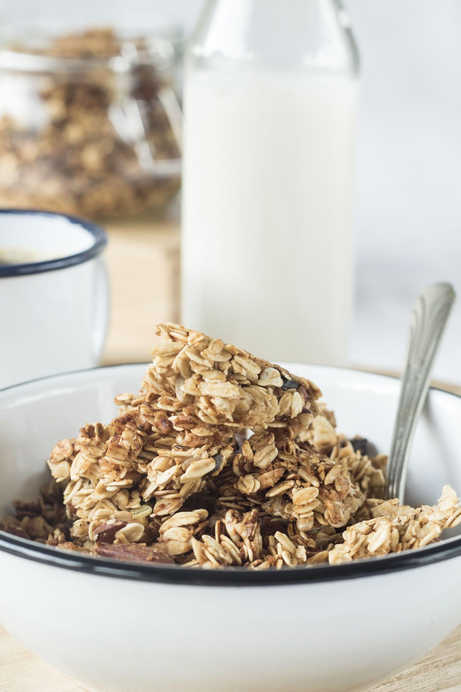 ricetta del granola del dietologo