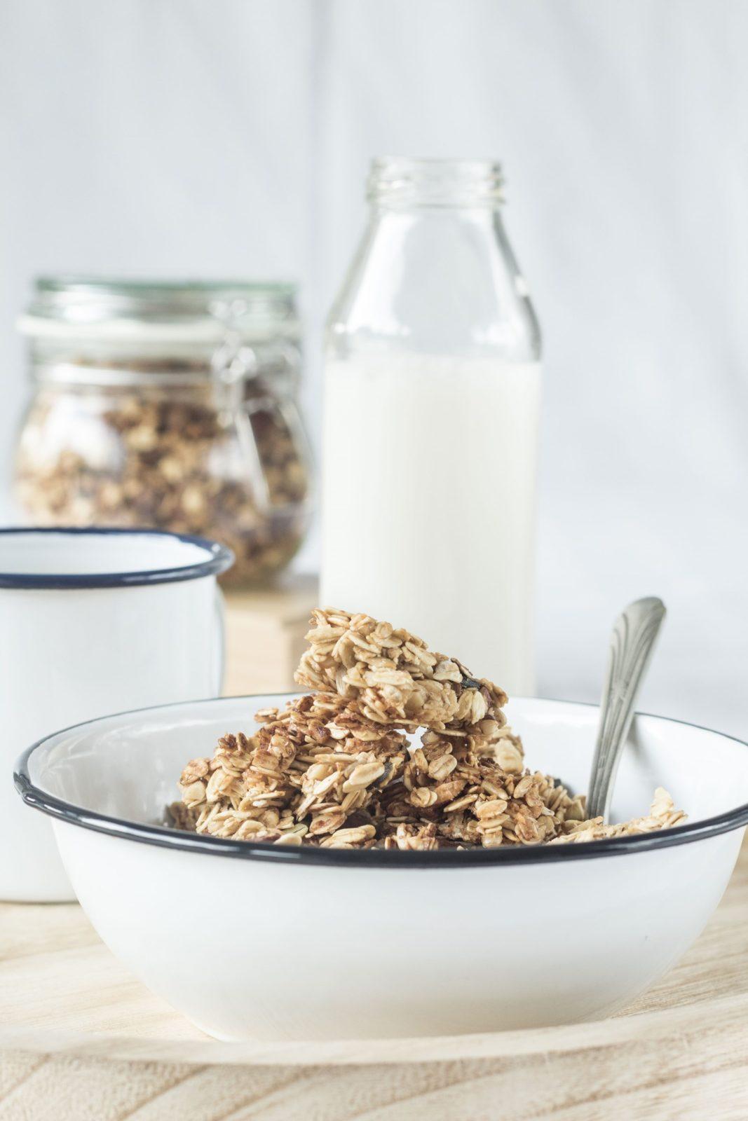 granola, colazione autunno