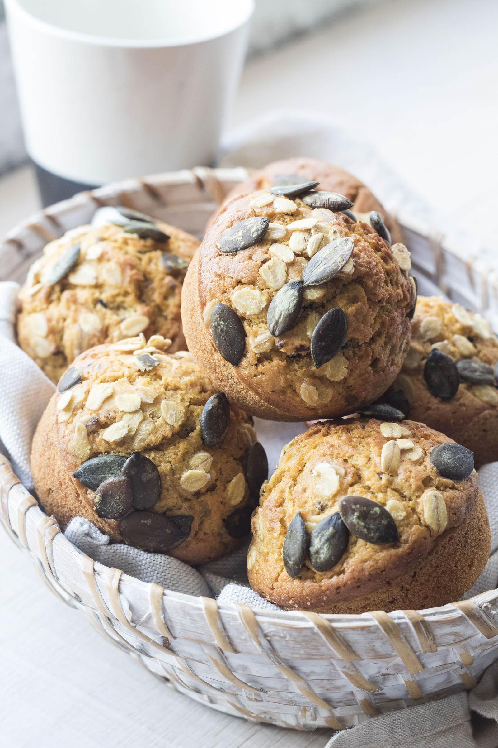 muffinscon zucca e lenticchie
