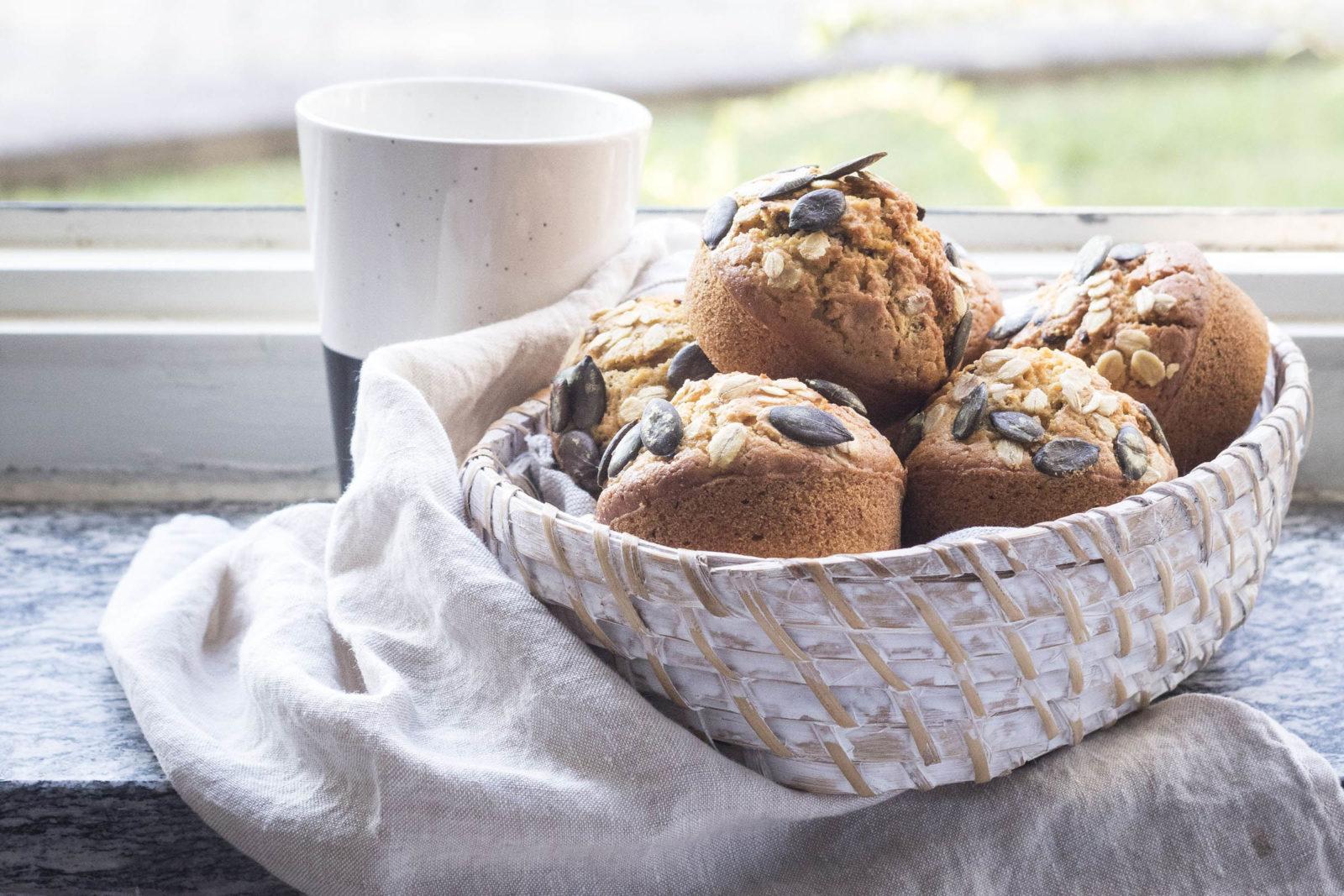 9 muffinscon zucca e lenticchie