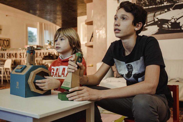 Nintendo LABO mania per tutta la famiglia Ricominciodaquattro