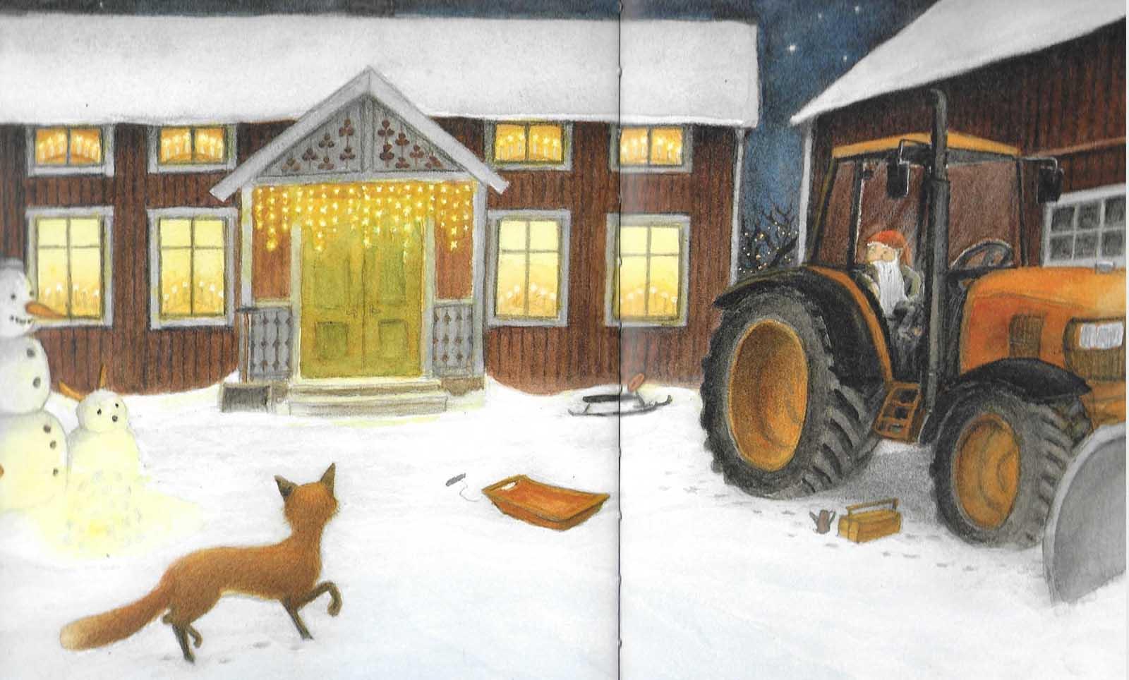 La volpe e il tomte. Età di lettura: dai 3 anni
