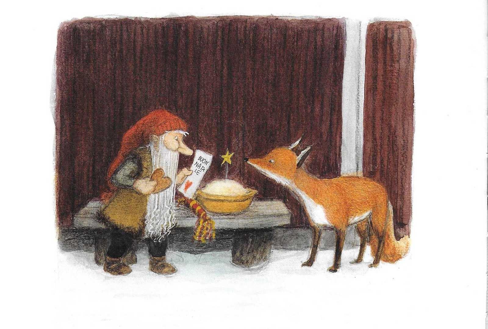 La volpe e il tomte. Età di lettura: dai 3 anni  Ricominciodaquattro
