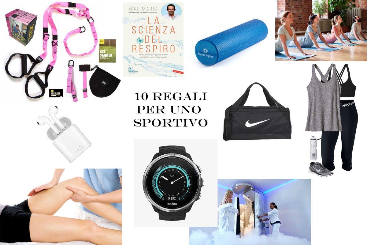 10 regali per uno sportivo Ricominciodaquattro