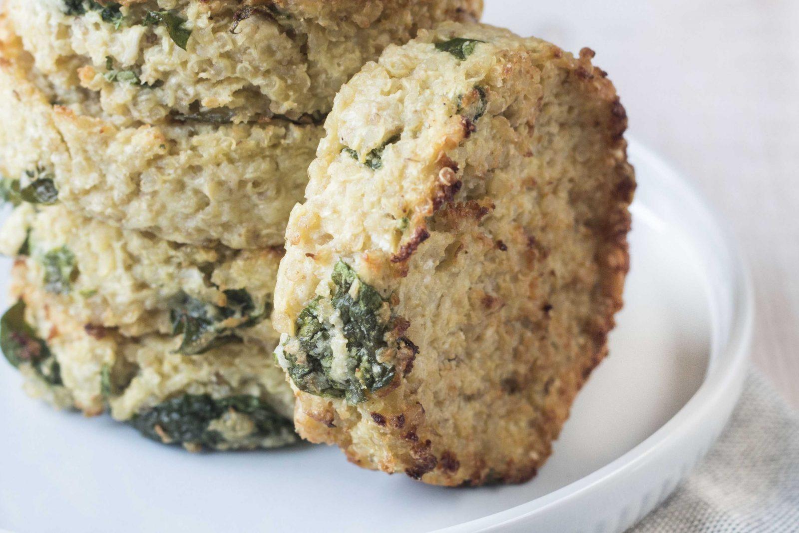 Crocchette di quinoa e cavolfiore Ricominciodaquattro