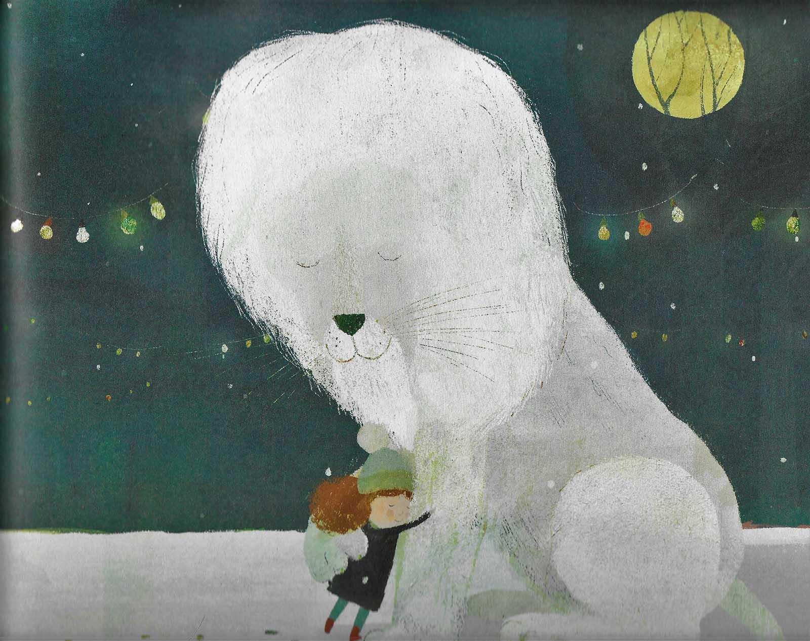 Il leone di neve Ricominciodaquattro