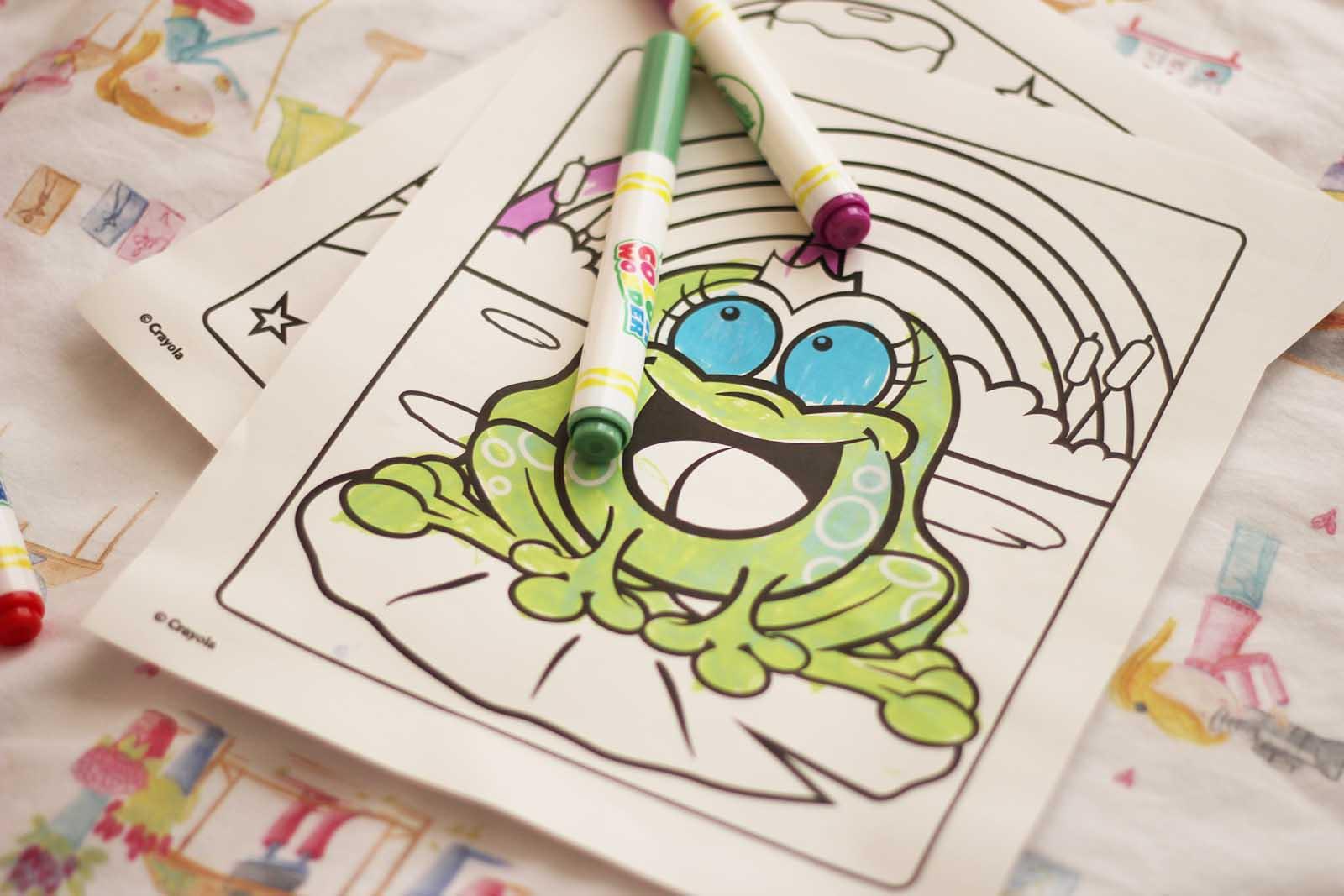 crayola wonder color ricominciodaquattro
