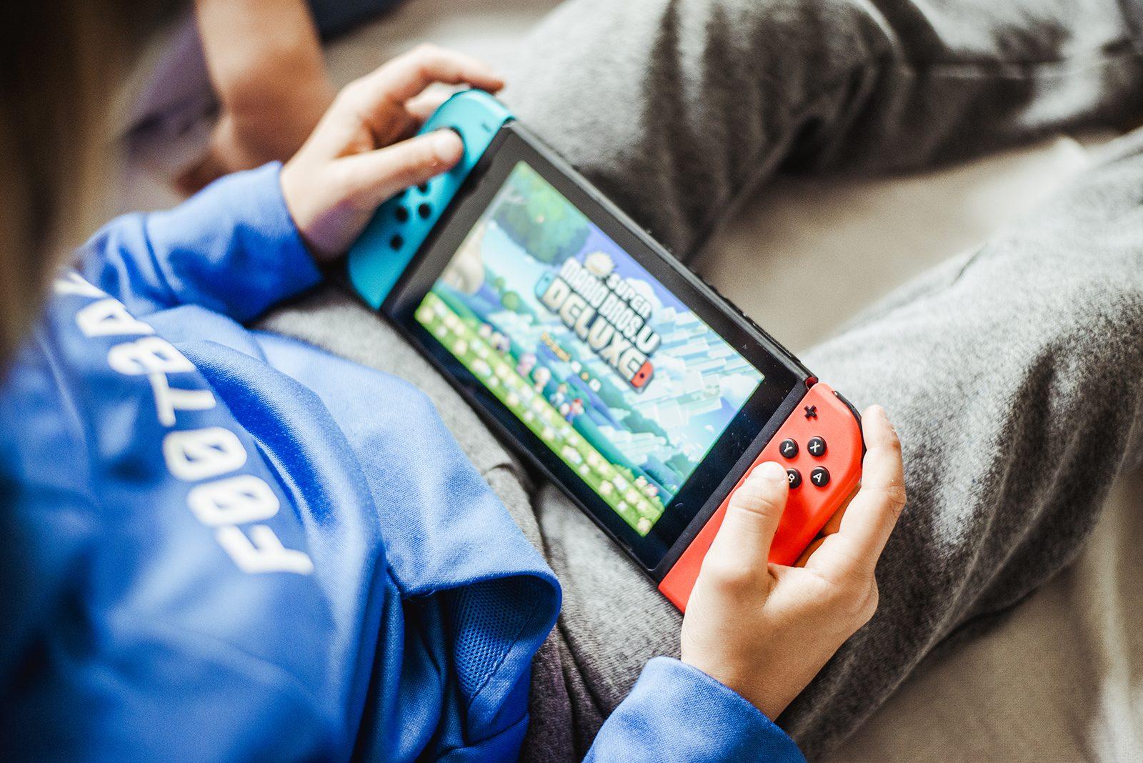 Nintendo Switch: la console per tutta la famiglia! ricominciodaquattro