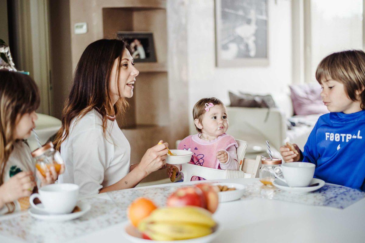 L' importanza della prima colazione a casa mia