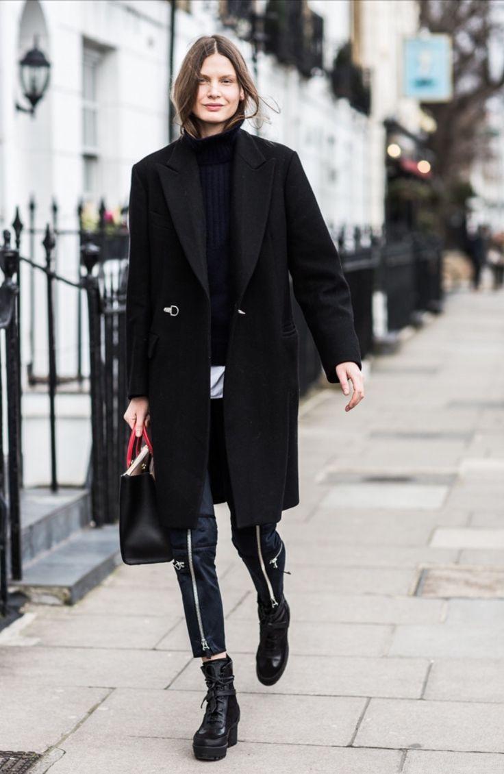 Come indossare il cappotto in autunno