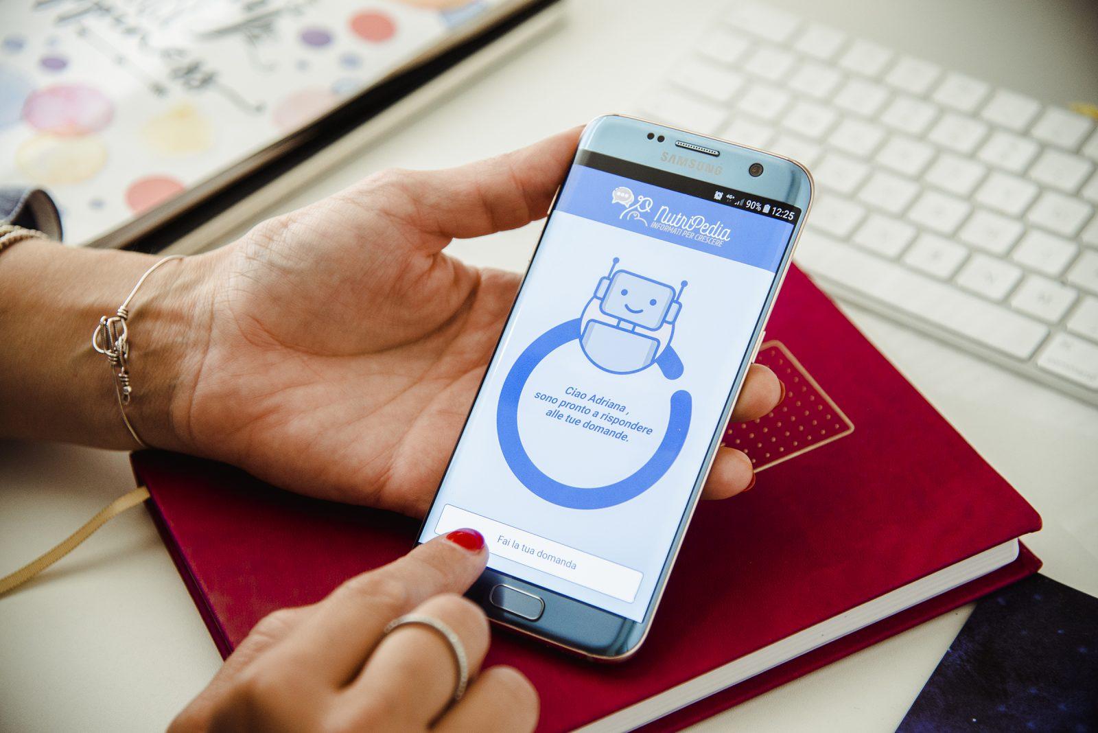 Chatbot Nutripedia: un esperto sempre a disposizione grazie all'App Ricominciodaquattro