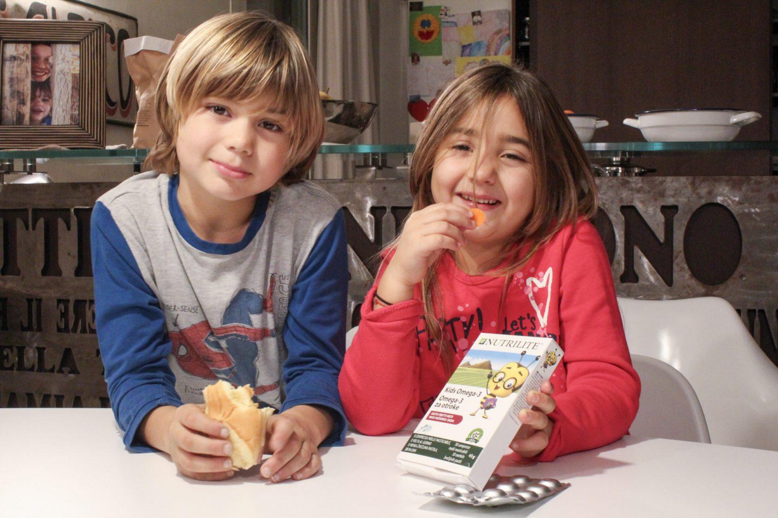 L'importanza degli acidi grassi Omega 3: NUTRILITE Kids Omega-3