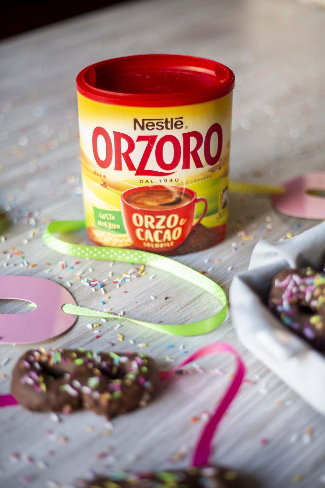 MASCHERINE DI CARNEVALE con Orzoro Orzo e Cacao