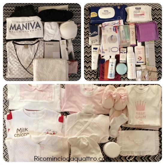 La valigia per l 39 ospedale cosa portare - Lista di cose da portare in ospedale per il parto ...
